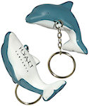 Dolphin Key Chain Stress Balls
